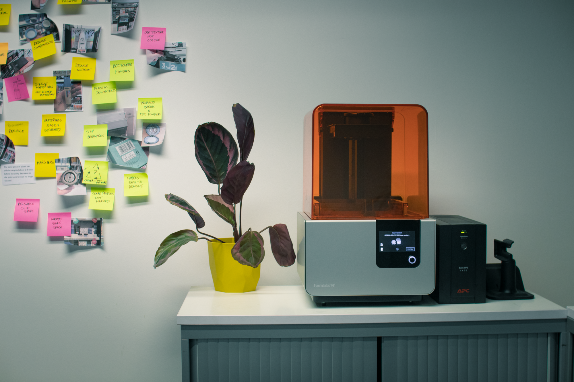 3D printer - Raymont Osman Product Design Consultancy